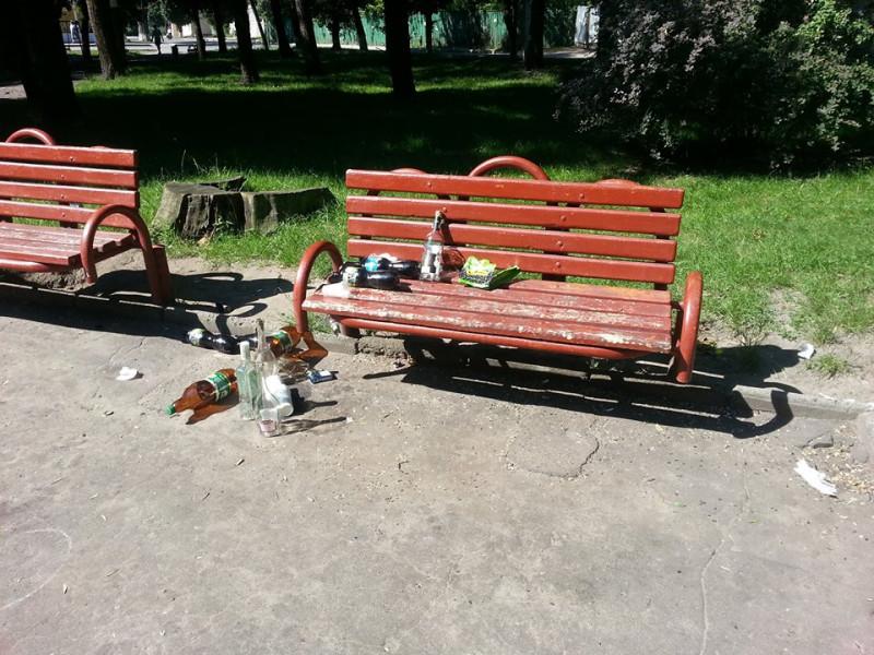 Ранковий парк у Ковелі