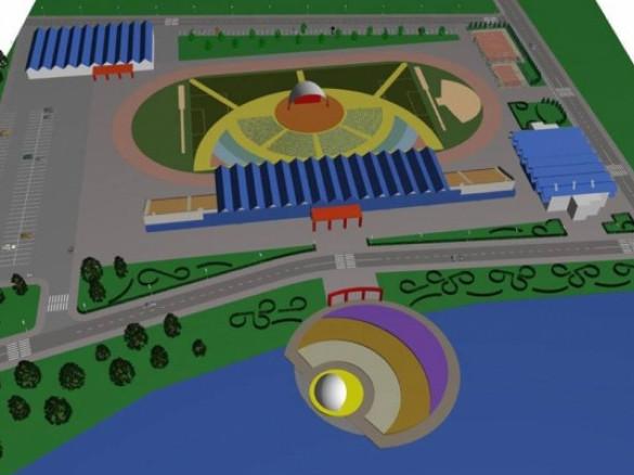 Проект стадіону «Локомотив»