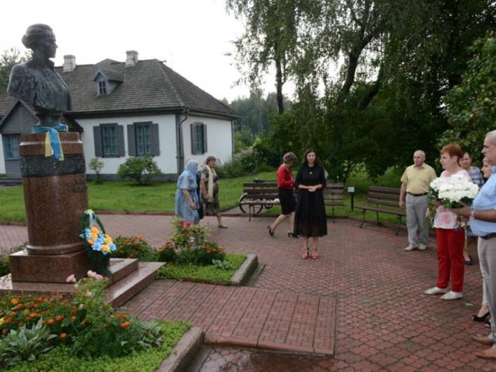 Вшанування пам'яті Лесі Українки у Колодяжному