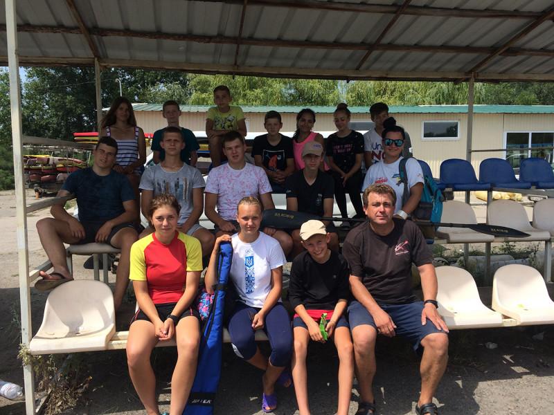 «Стрімкі човни» на чемпіонаті у Дніпрі