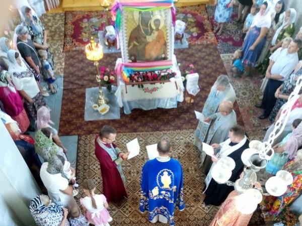 У храмі Різдва Йоана Хрестителя