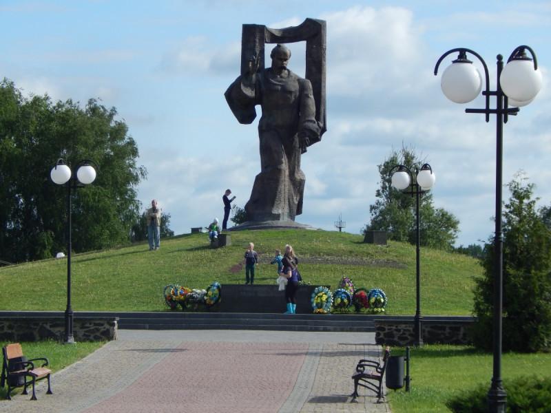 Пам'ятник Тарасу Шевченку у Ковелі