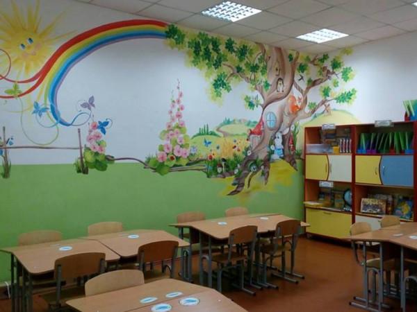 Клас у школі села Любитів