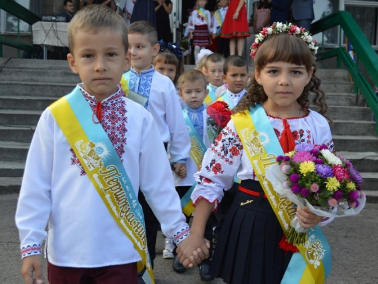 Першокласники школи №12