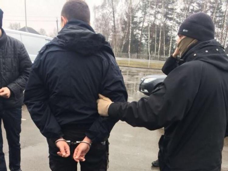 Затримання Павла Науменка у березні 2018-го року