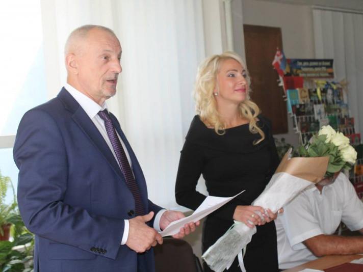 Ольга Чубара і Олександр Савченко