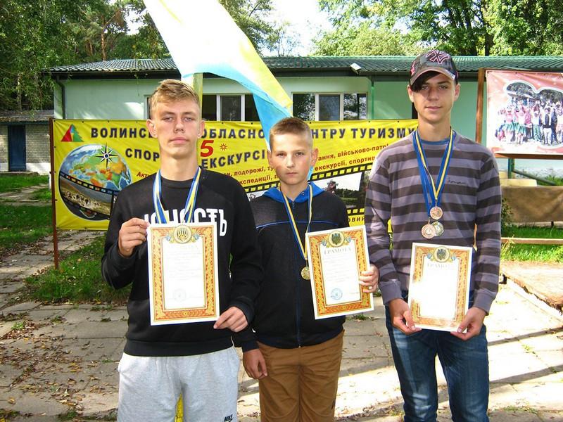 Команда юних ковельських техніків