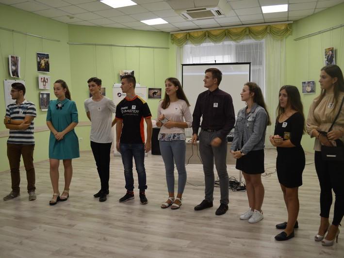 У культурно-просвітницькому центрі відбулась презентація робіт учасників проекту «Погляд молоді на місто»