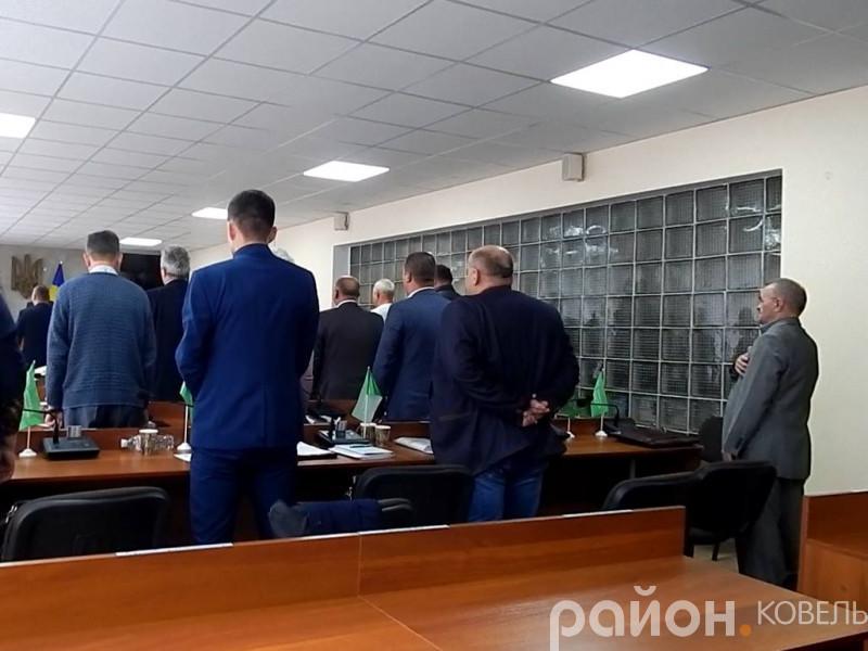 На сесії Ковельської міської ради роздавали «ярлики» та сказали про «велич» депутатську