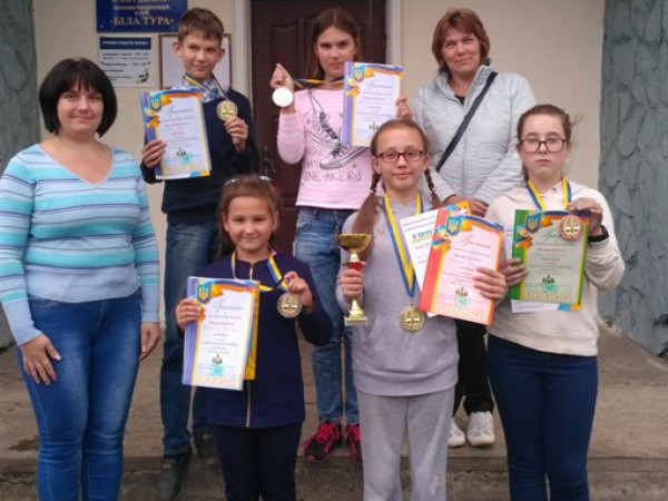 Юні ковельські шахісти стали переможцями та призерами чемпіонату Волині