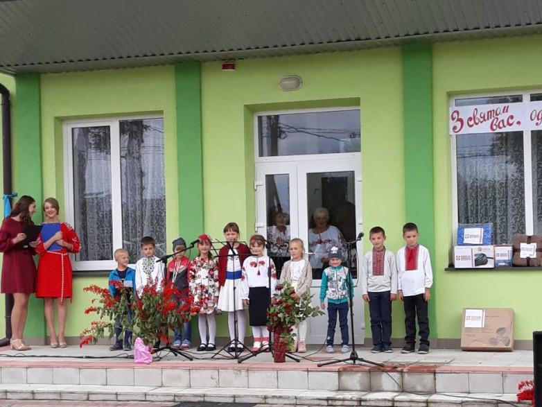 У селі Мощена відбулося святкування Дня села