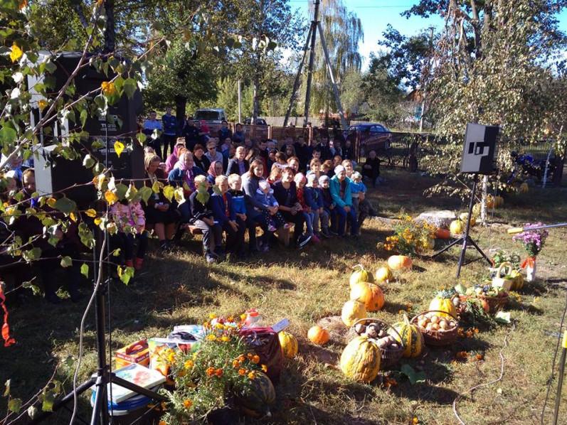 Біля сільського клубу Арсеновичі відбулось святкування Дня села