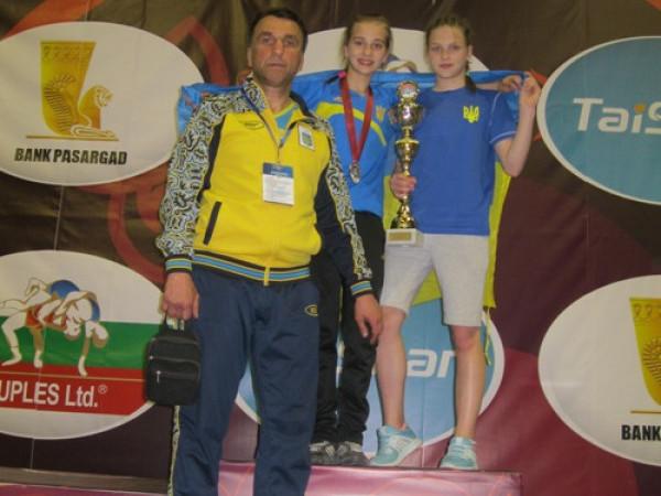 На міжнародному турнірі з вільної боротьби Ольга Падошик та Анастасія Лебедєва здобули бронзові нагороди