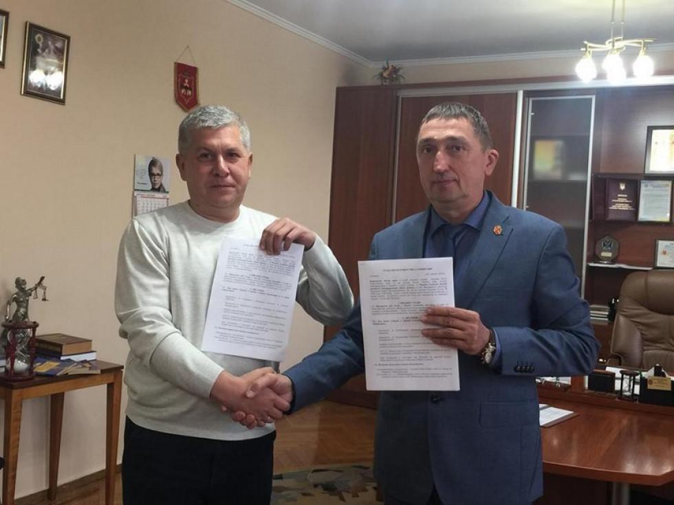 Олег Кіндер і Сергій Молонов
