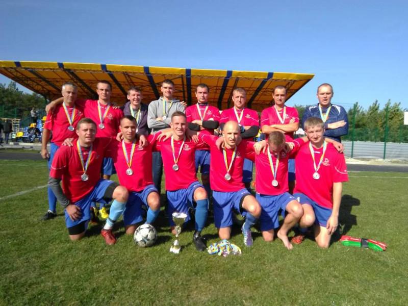 Команда села Доротище стала «срібним» призером Кубка району з футболу