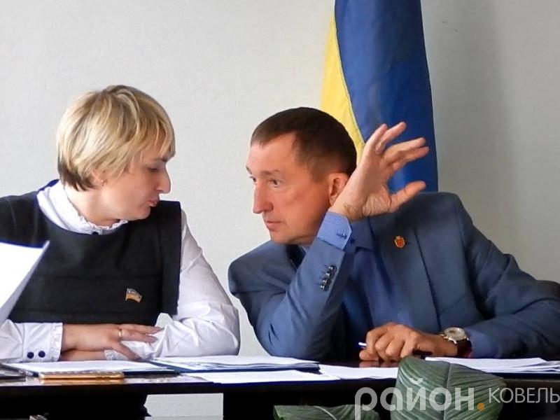 Олег Кіндер і Віра Федосюк