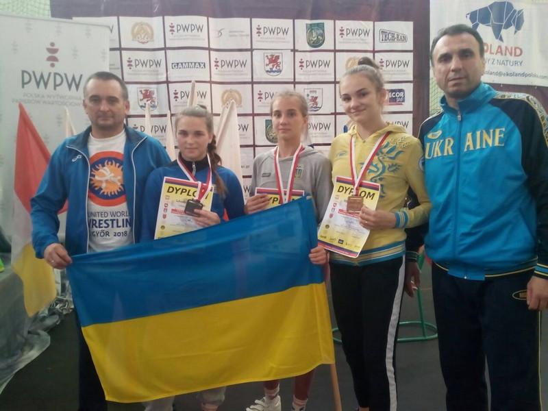 Ковельські борчині показали високу майстерність і привезли комплект нагород з Польщі
