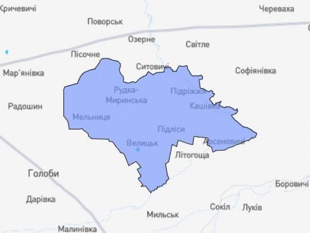 ОТГ села Велицьк
