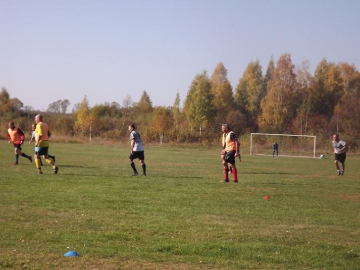 Люблинець: змагалися ковельські ветерани футболу