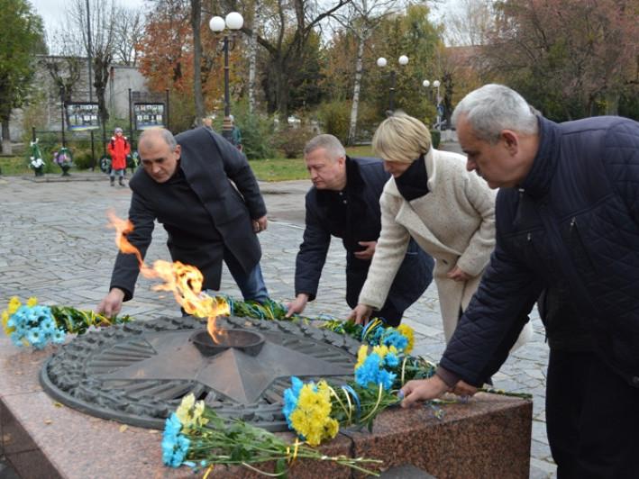 Ковельчани вшанували подвиг воїнів-визволителів від нацистських загарбників