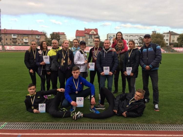Ковельські легкоатлети гідно виступили на змаганнях у Луцьку