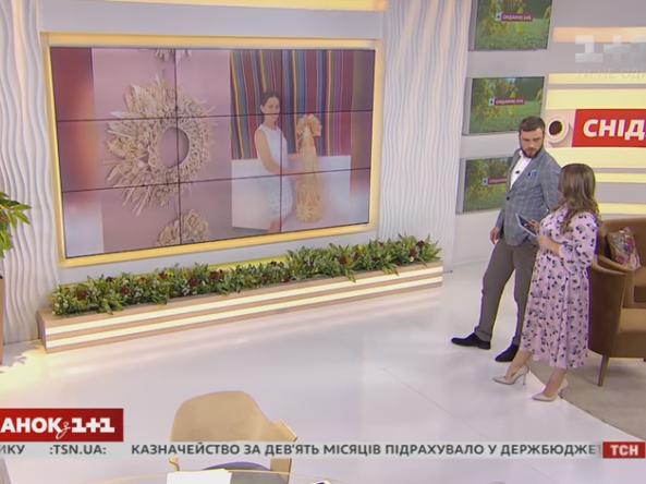У «Сніданку» показали фото робіт ковельської майстрині Інни Чонки