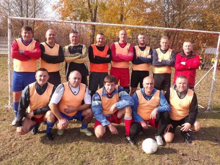 У Люблинці грали ветерани футболу