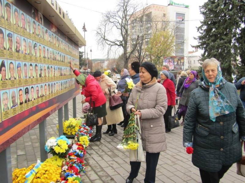 У Луцьку вшанували загиблих в АТО мешканців Ковельщини