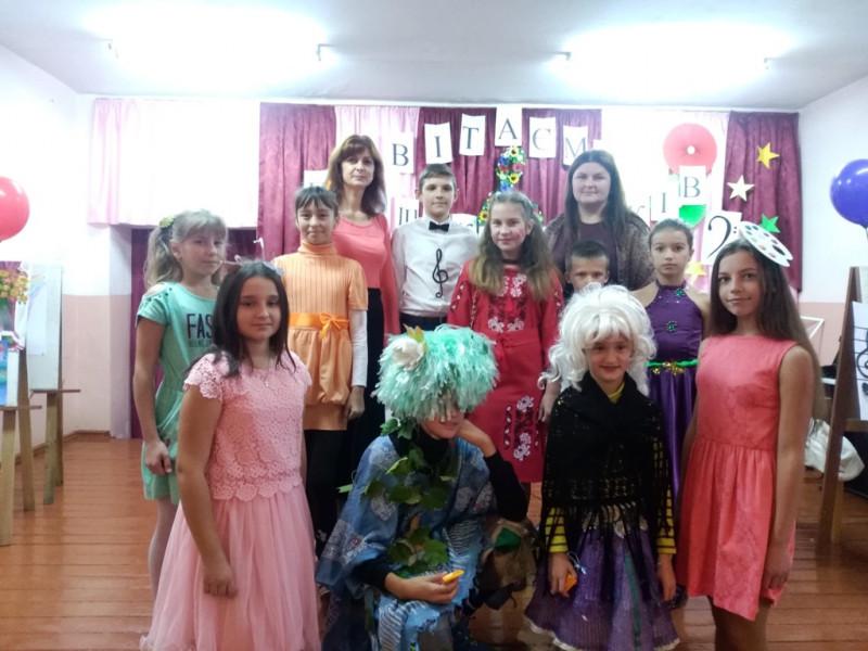 У Люблинецькій школі мистецтв відбулася посвята в першокласники