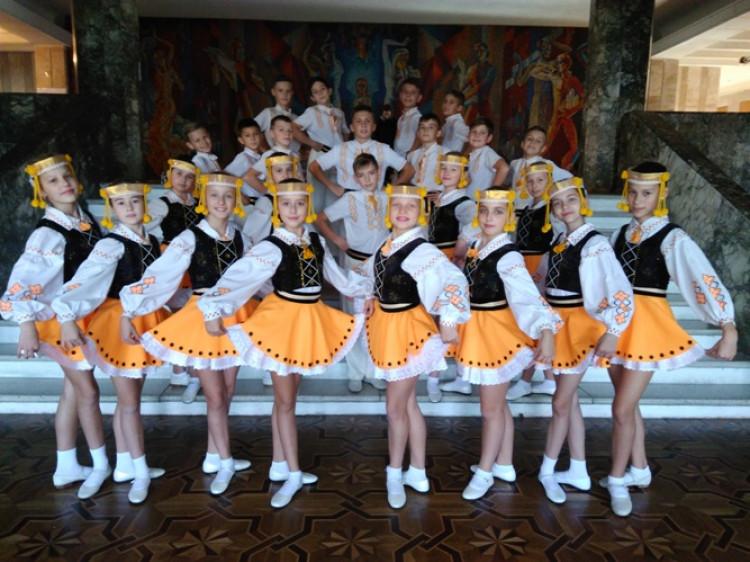 Дитячий танцювальний ансамбль «Барвінок» став лауреатом у Львові