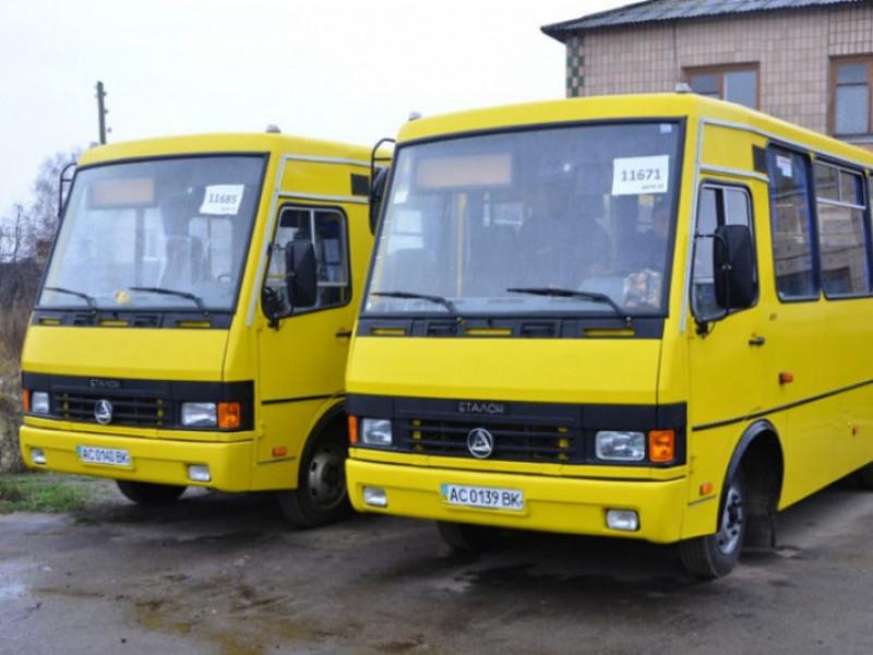 У Ковелі на трьох міських автобусних маршрутах — нові перевізники