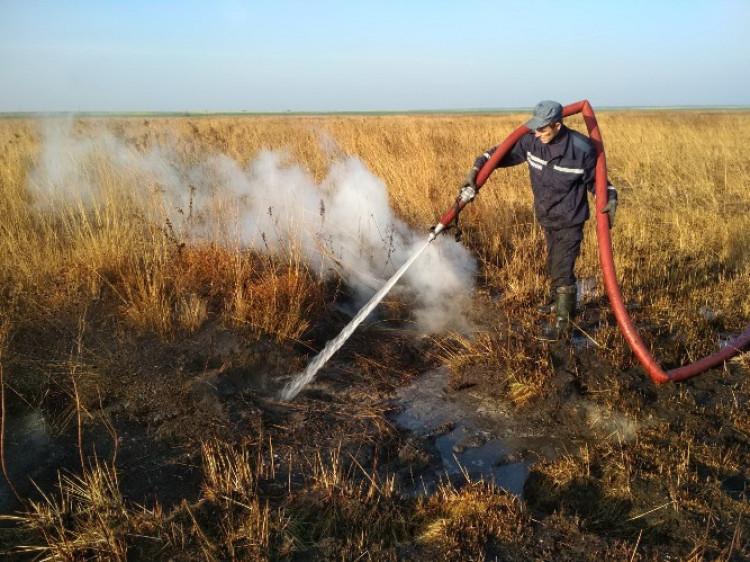 Рятувальники застерігають ковельчан від спалювання сухої рослинності