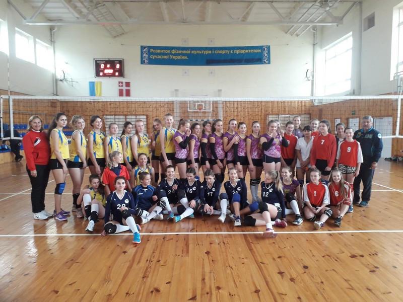 У Ковелі відбувся міжобласний турнір з волейболу «Барви осені»