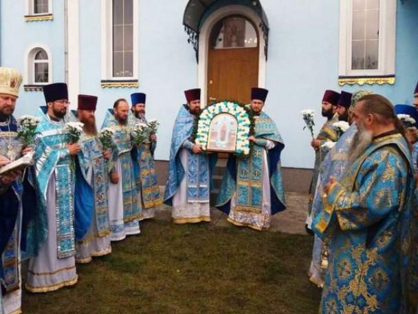 Храм «Всіх скорботних радість» села Дубове відзначив 20-ту річницю від дня освячення