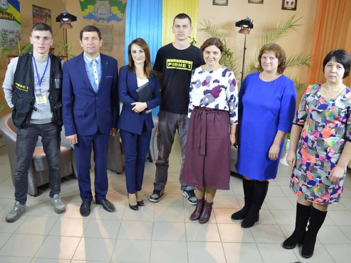 У Дубівській громаді працювали журналісти телевізійного каналу «Рівне 1»