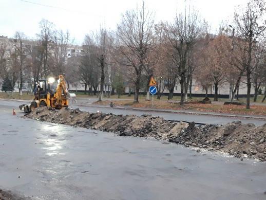 У Ковелі розпочали реконструкцію вулиці Відродження