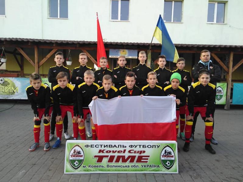 Юні польські футболісти здобули перемогу на міжнародному фестивалі у Ковелі
