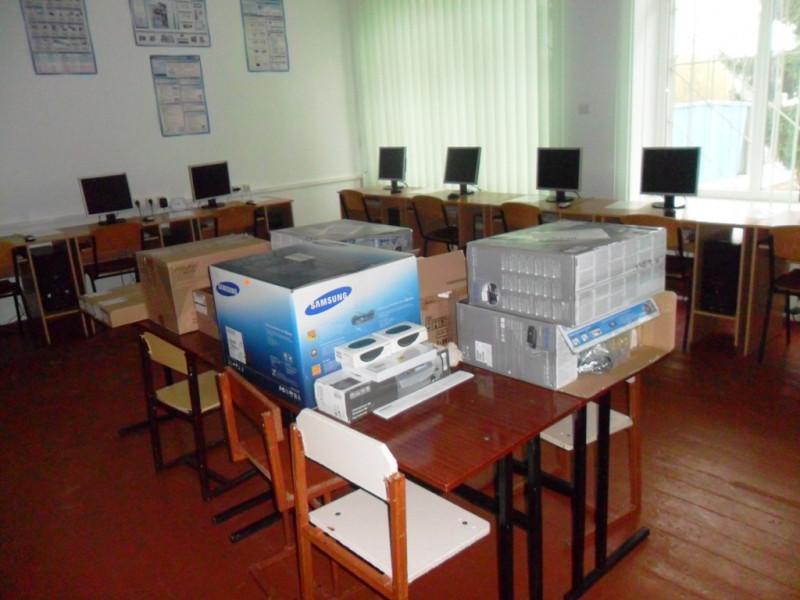 У Люблинецькій опорній школі – нове матеріальне оснащення