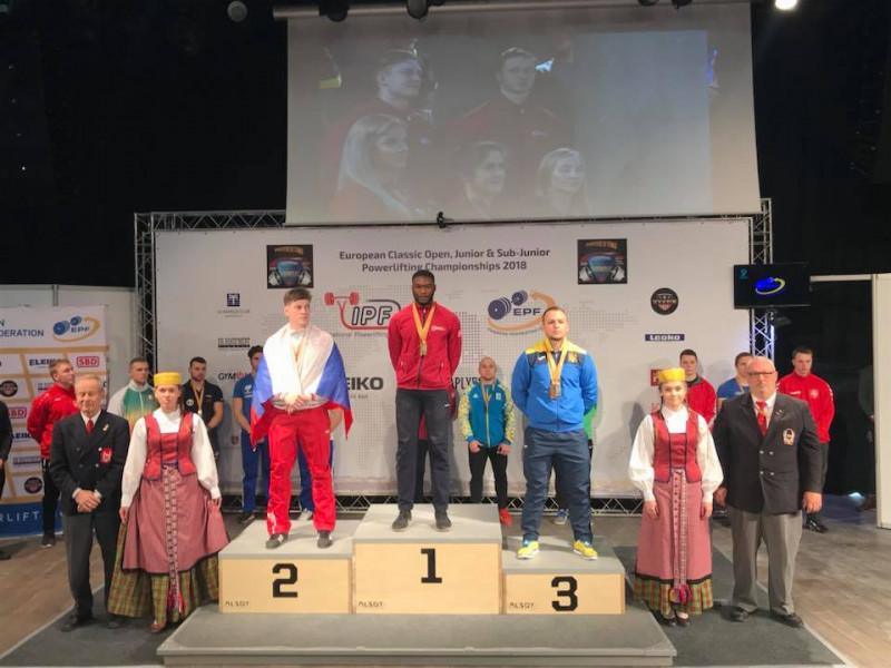 Ковельчанин Станіслав Здробилко здобув «бронзу» у Литві