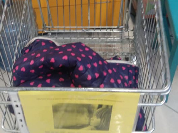У ковельському торговому центрі вкрали речі, які збирали діткам до Дня Святого Миколая