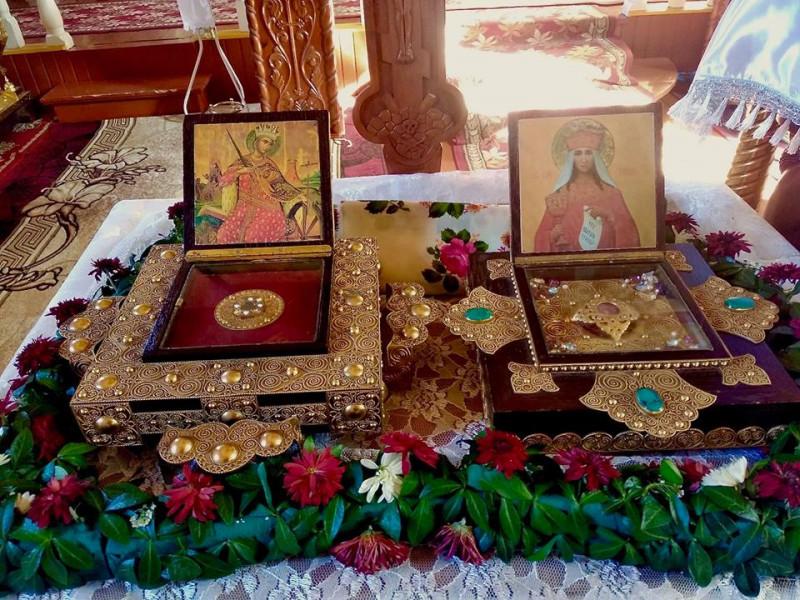 У Ковель привезли мощі князя Володимира та великомучениць Варвари і Катерини