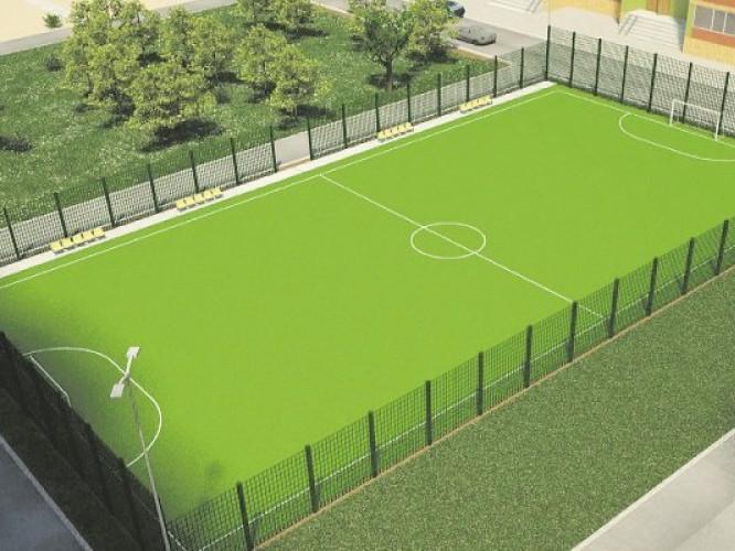 У Ковельському військовому ліцеї збудують футбольне поле