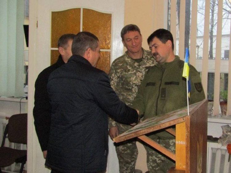 У Ковелі привітали військових з Днем Збройних Сил України