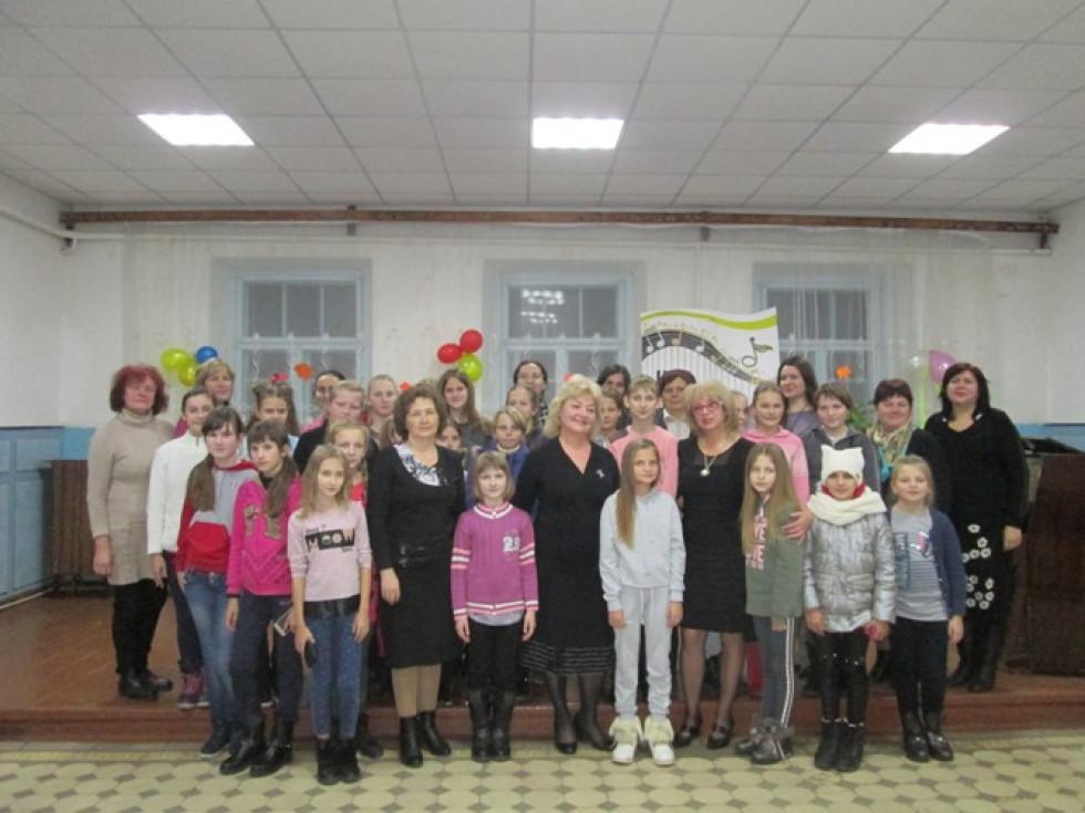Фото зі сторінки Голобської музичної школи у Facebook