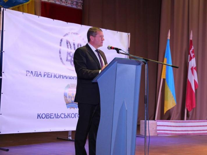 Віктор Козак на Раді регіонального розвитку Ковельського району