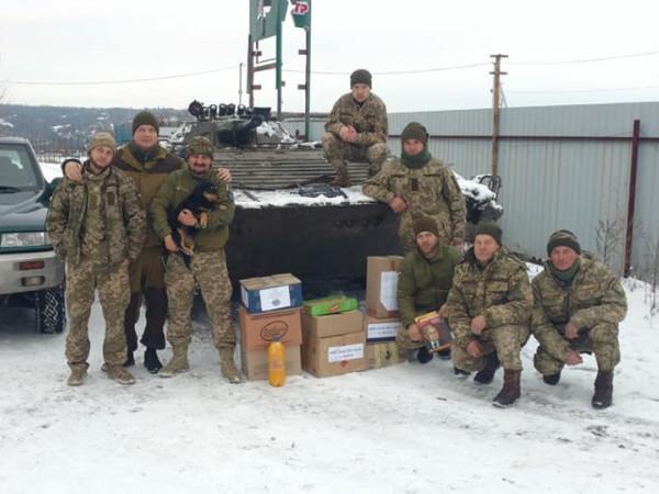 Ковельчани передали подарунки і необхідні речі для бійців ООС