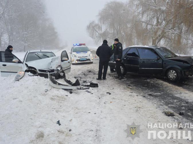 Поблизу Голоб зіткнулися дві автівки: постраждало шестеро людей