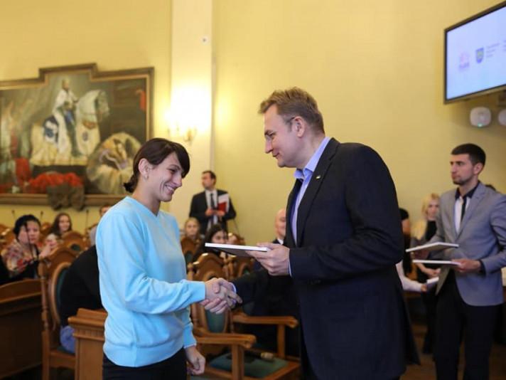 Ковельська борчиня Юлія Ткач отримала премію від міста Львова