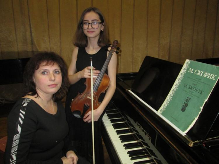 У школі мистецтв відбувся вечір музики Мирослава Скорика