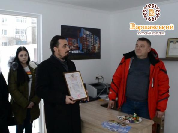 Ковельського забудовника нагородили за розбудову Української Церкви
